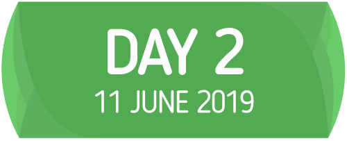 Day 2 - 11 June 2019