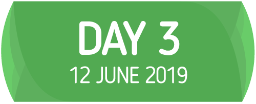 Day 3 - 12 June 2019