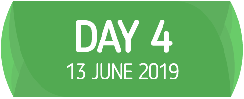 Day 4 - 13 June 2019