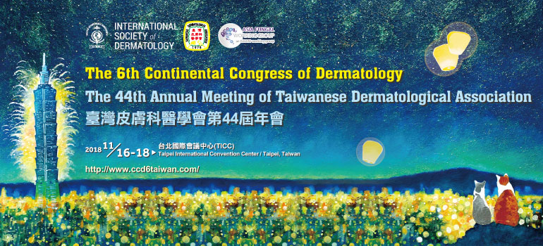 The 6th Continental Congress of Dermatology in Taipei